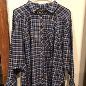 Urban Outfitters BDG blue flannel